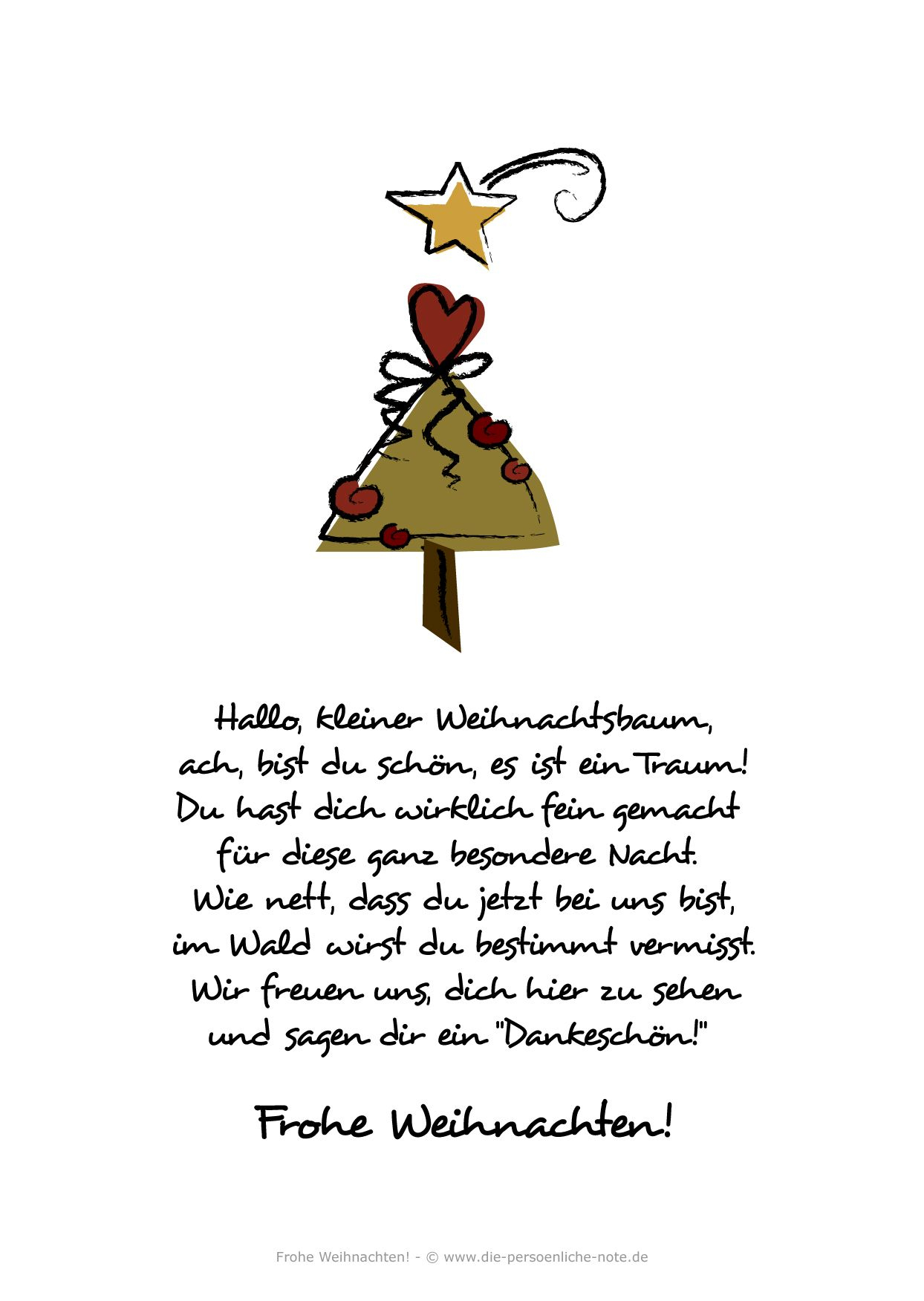Adventskalender 2014: Kostenlose Weihnachtskarte über Weihnachtsgedichte Für Kinder