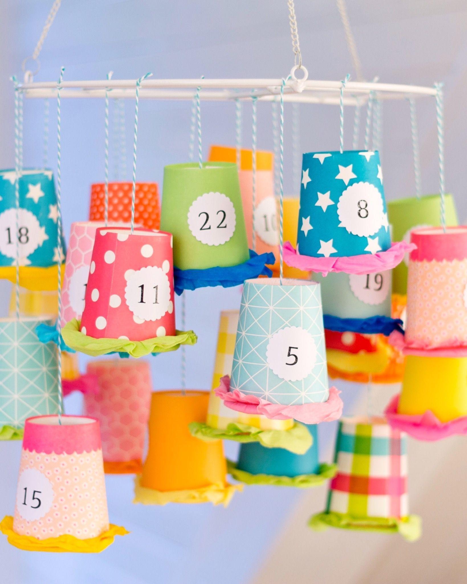 Adventskalender Basteln - 10 Kreative Bastelideen in Adventskalender Selber Machen Kinder