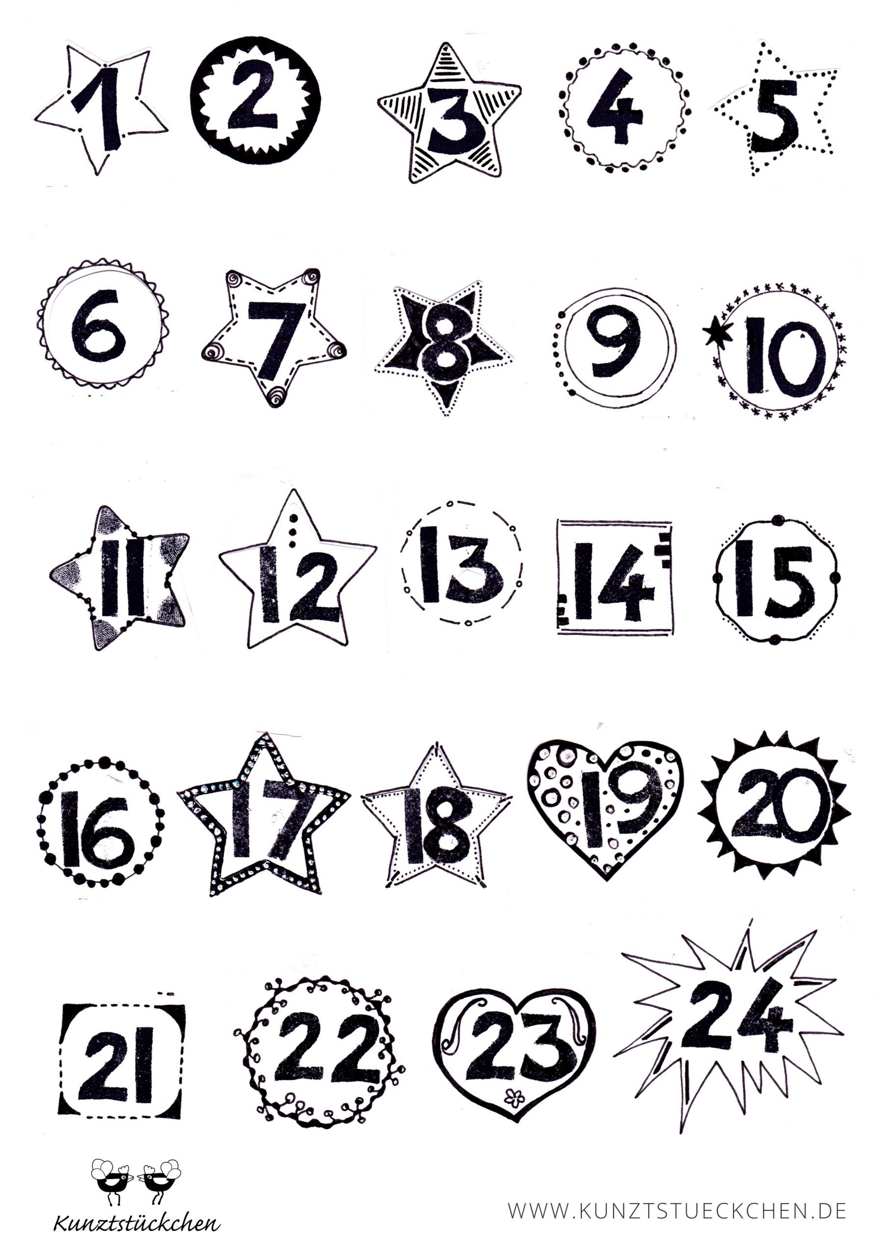 Adventskalender-Fabrik | Adventkalender, Adventskalender bestimmt für Adventskalender Drucken