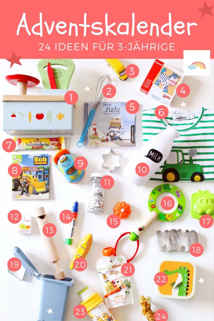 Adventskalender Für Kinder Füllen: 24 Ideen Für 3-Jährige bei Adventskalender Selber Machen Kinder