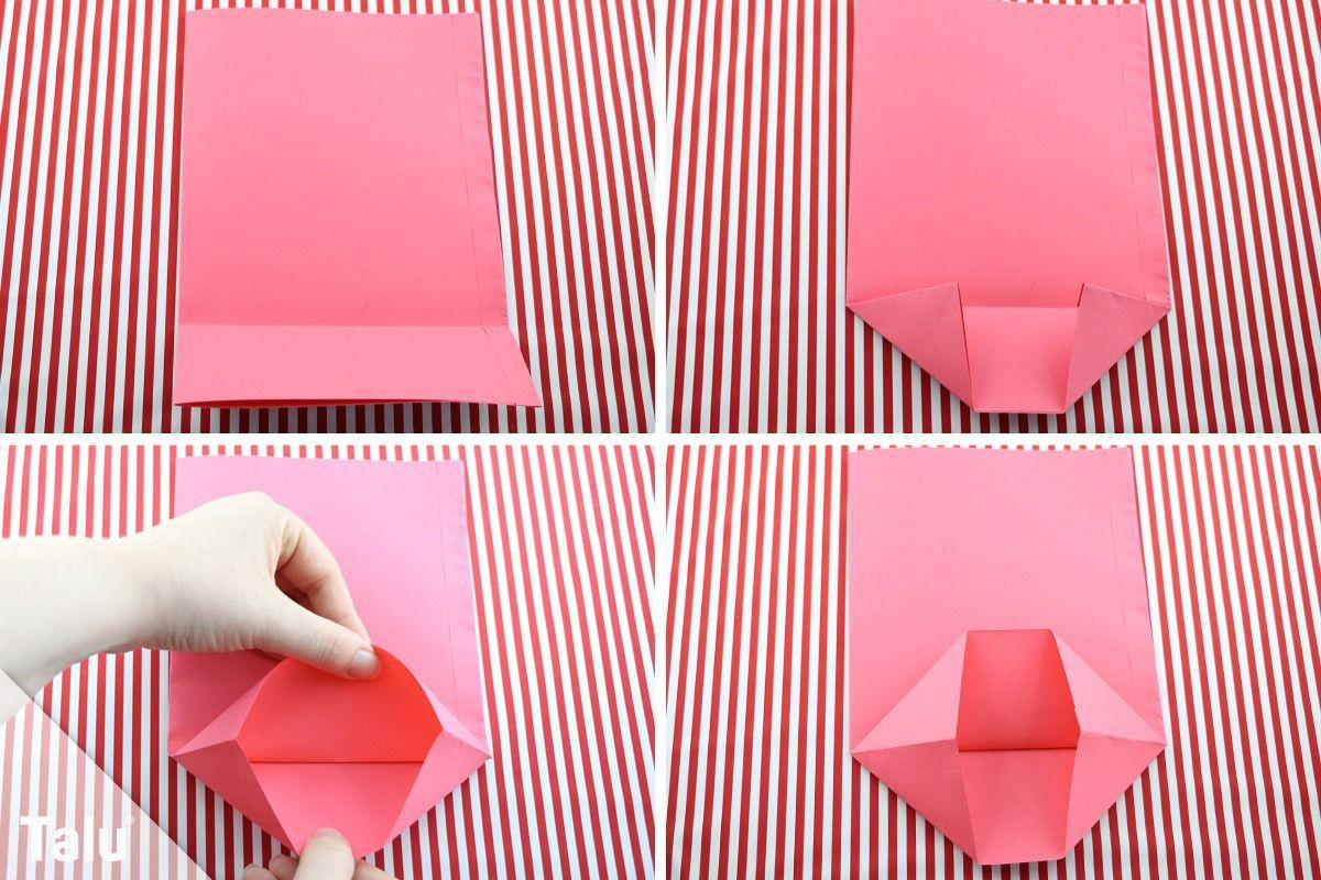 Adventskalender Mit Tüten Basteln - Anleitung Für verwandt mit Adventskalender Aus Papier Selber Basteln