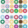 Adventskalender Zahlen Zum Ausdrucken | Adventkalender verwandt mit Adventskalender Vorlagen Ausdrucken