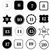 Adventskalender Zahlen Zum Ausdrucken verwandt mit Adventskalender Drucken