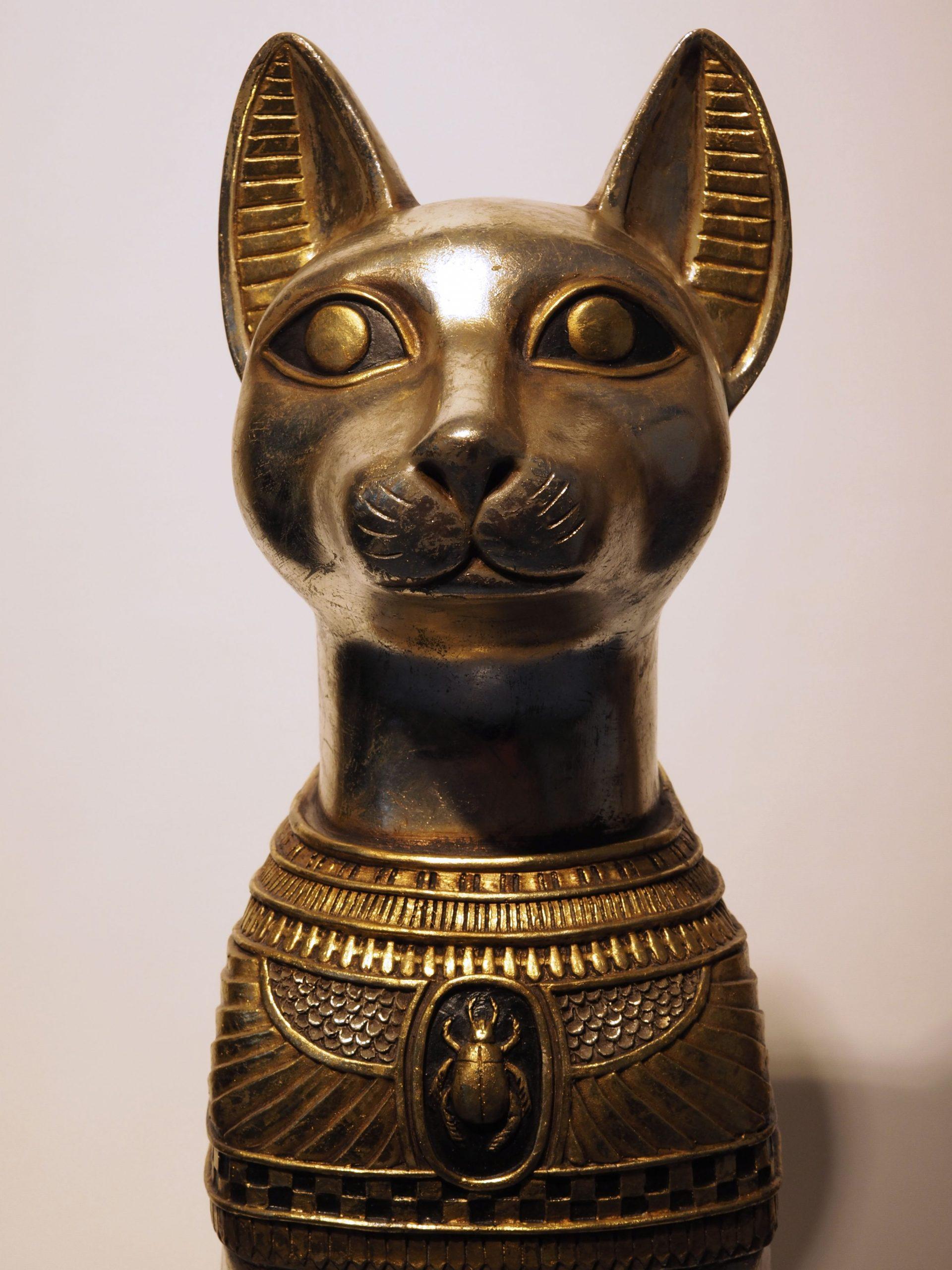 Ägyptische Katzengöttin Bastet bei Ägyptische Katzengöttin