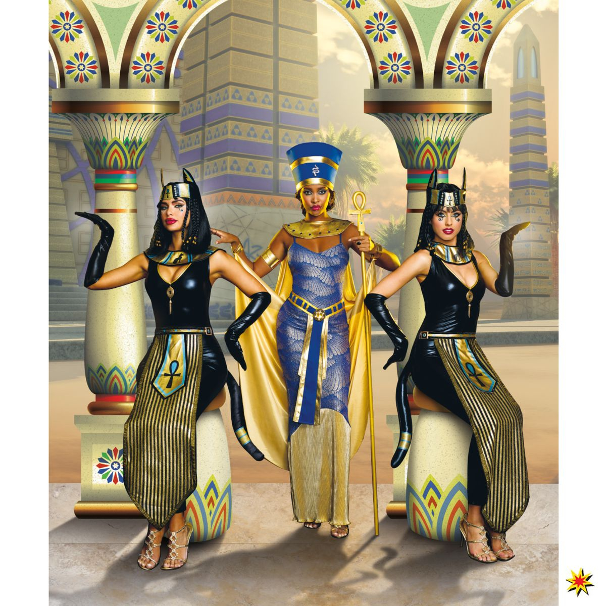 Ägyptische Katzengöttin Bastet ganzes Ägyptische Katzengöttin