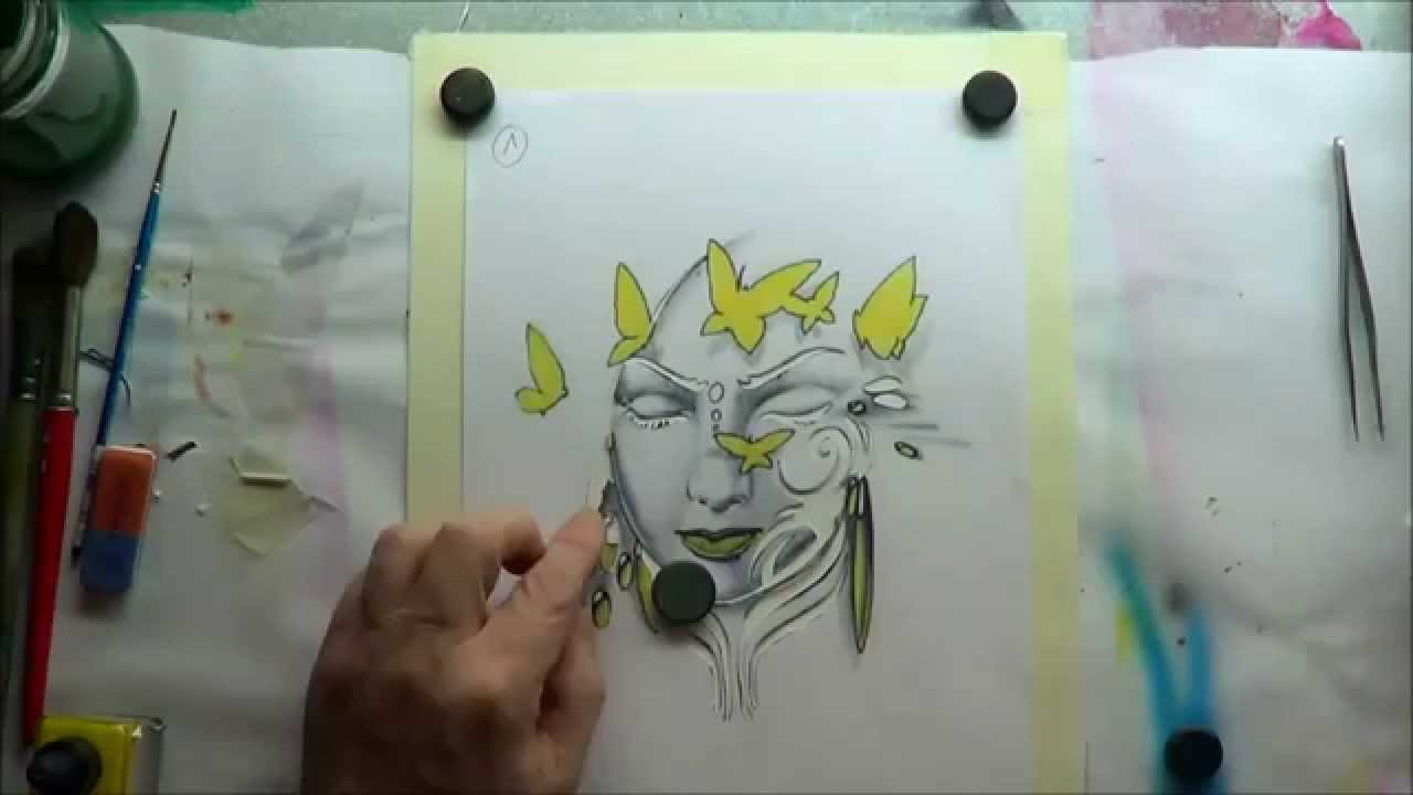 Airbrush Schablonen Zum Ausdrucken Schmetterling Traum Teil 1 mit Airbrush Schablonen Ausdrucken