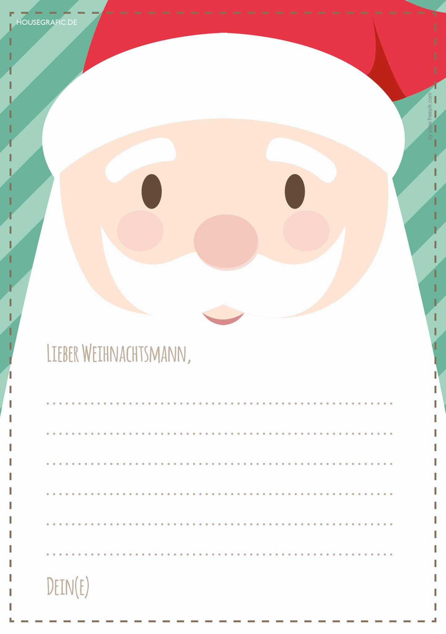 Alle Jahre Wieder – Wunschzettel Zum Ausdrucken & Ausfüllen für Weihnachtswunschzettel Zum Ausdrucken