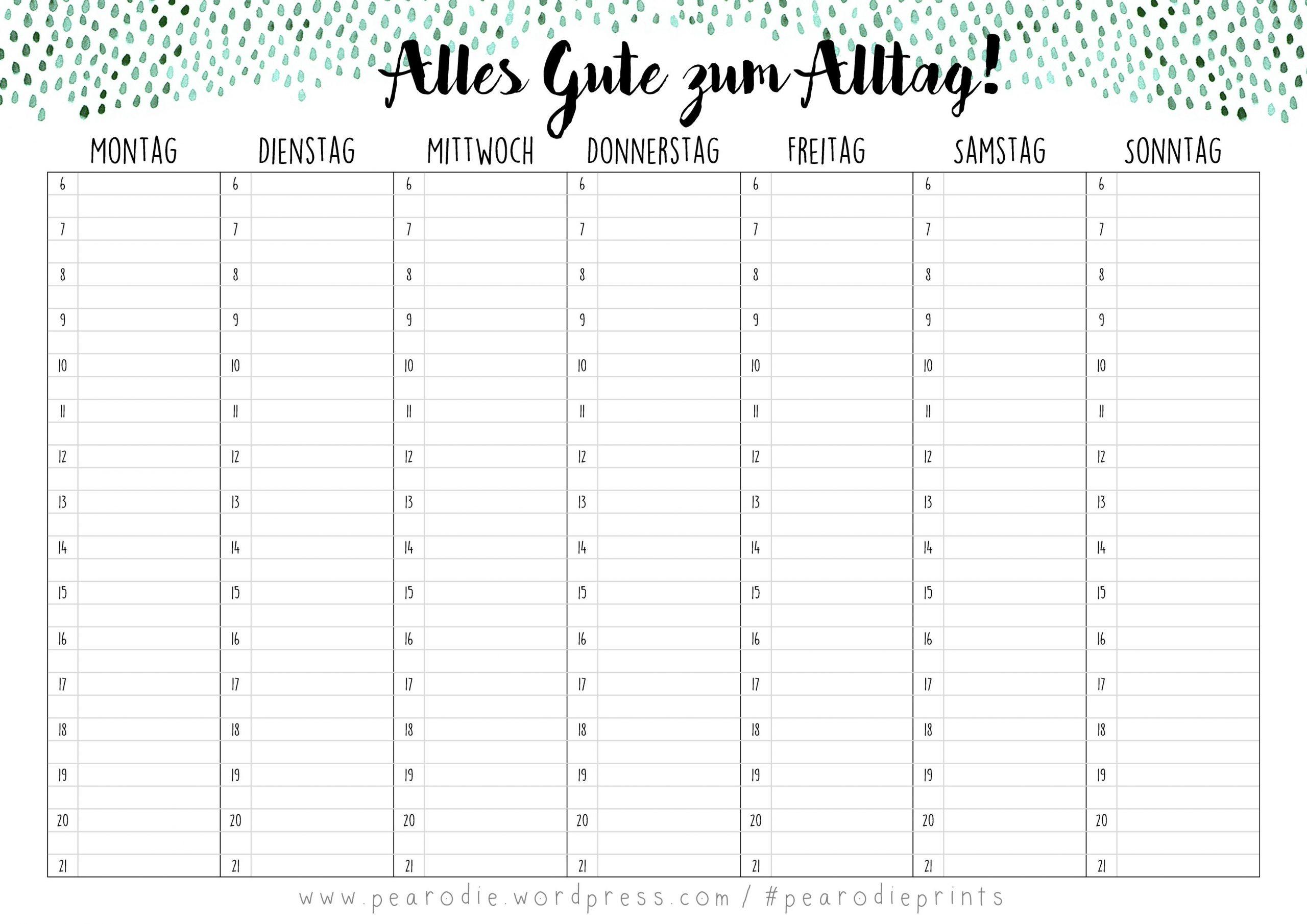 Alles Gute Zum Alltag! – Stundenplan Free Print (Mit Bildern verwandt mit Stundenplan Online Erstellen Kostenlos