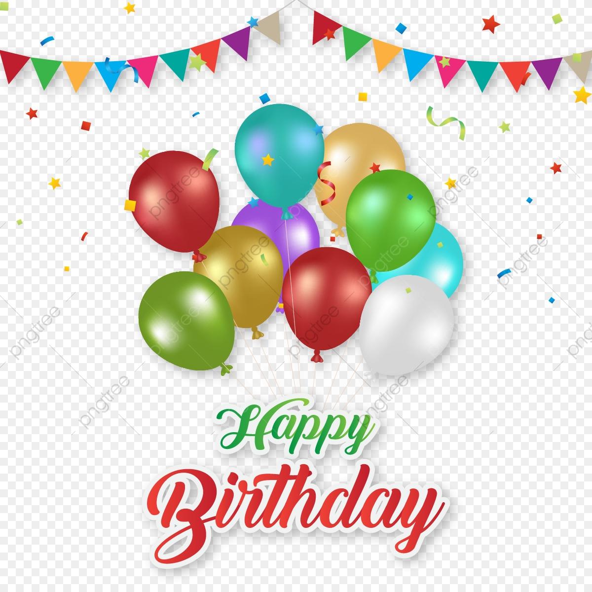 Alles Gute Zum Geburtstag Wünscht Mit Bunten Luftballons über Geburtstag Bilder Kostenlos Herunterladen
