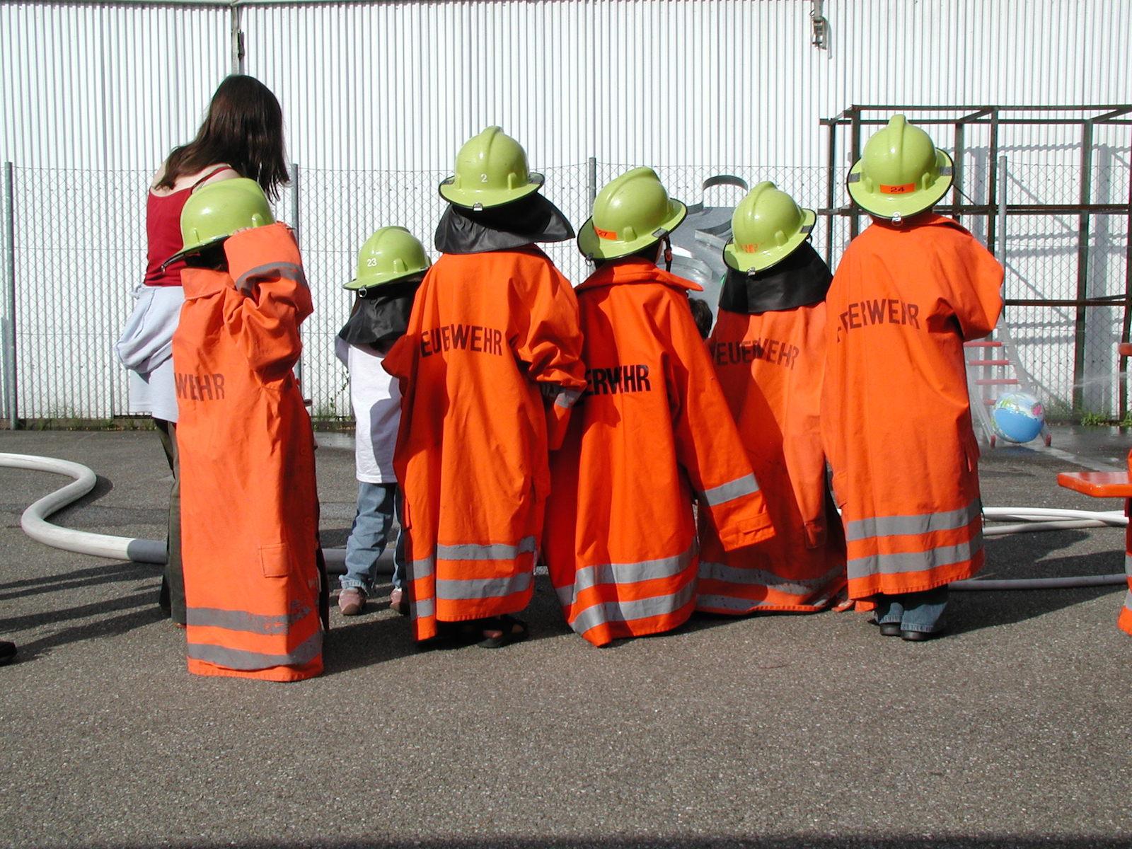 Allgemein: Feuerwehr Jestetten innen Kinder Feuerwehrkleidung