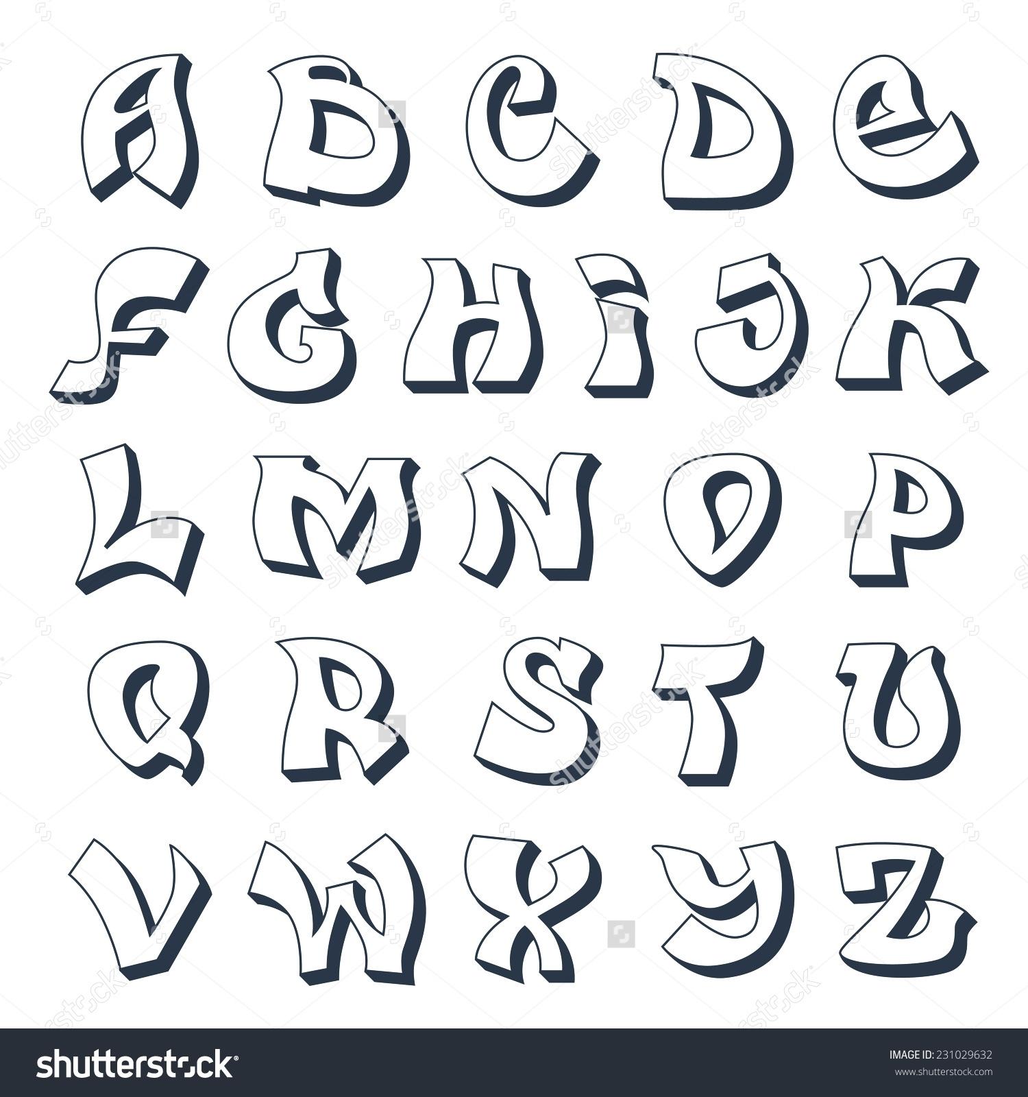 Alphabet Buchstaben Ausdrucke - Malvorlagen Für Kinder mit Buchstaben Zum Ausschneiden