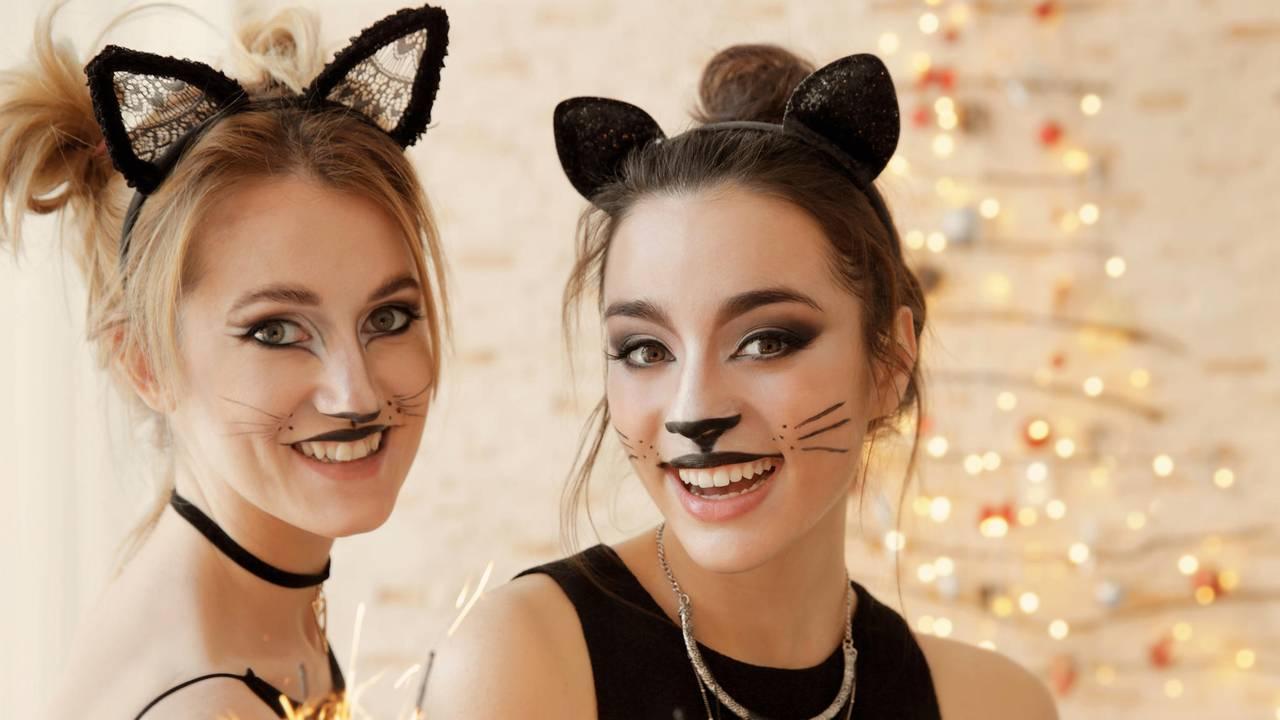 Als Katze Schminken - Make-Up-Idee Zu Karneval | Brigitte.de für Kinderschminken Katze Vorlagen