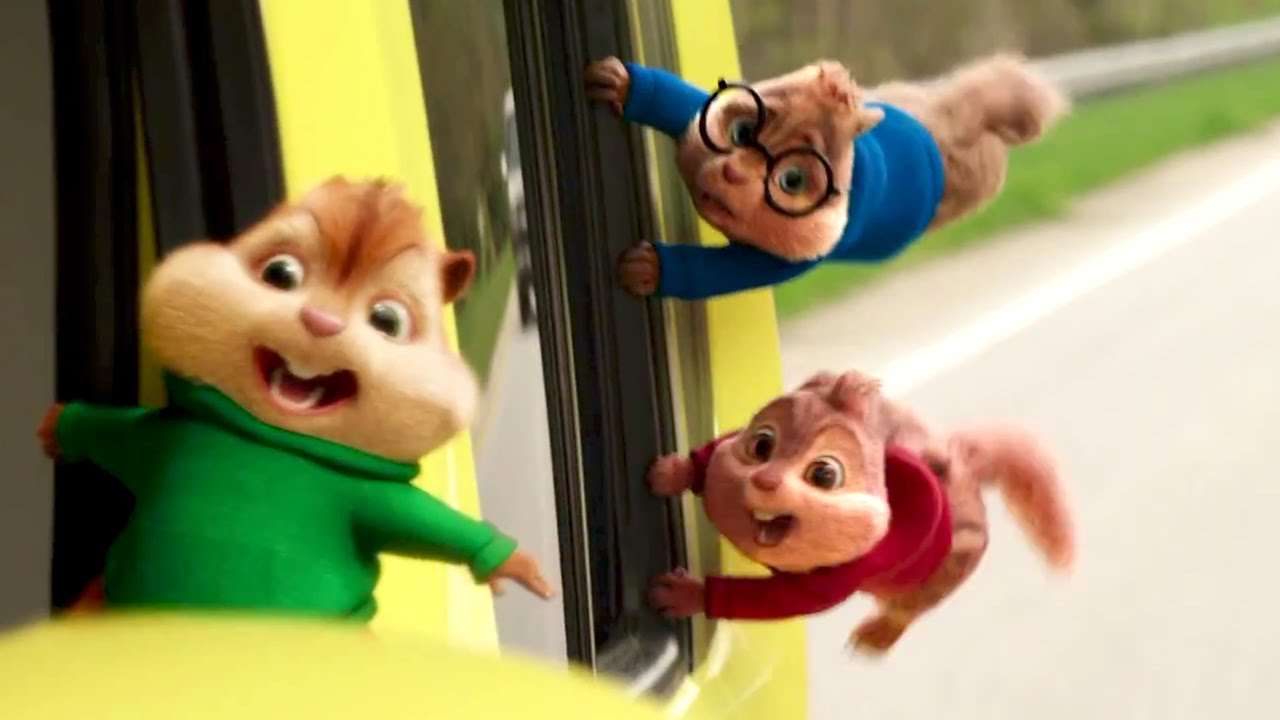 Alvin And The Chipmunks 4 'the Road Chip' Trailer # 2 bei Alvin Und Die Chipmunks 4 Trailer