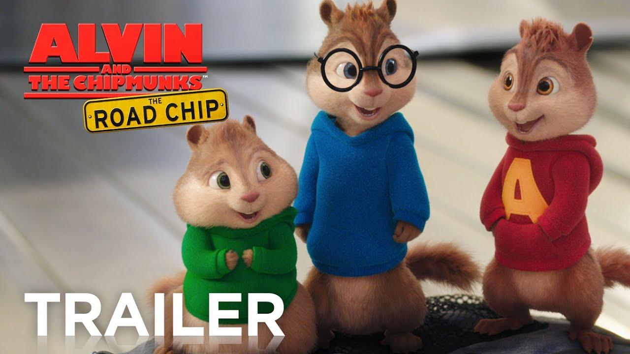 Alvin And The Chipmunks: The Road Chip | Official Trailer 2 [Hd] ganzes Alvin Und Die Chipmunks 4 Trailer