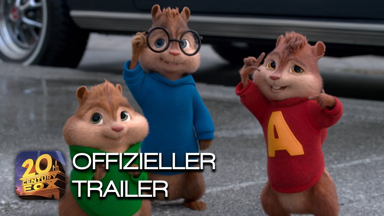 Alvin Und Die Chipmunks 4: Road Chip | Blu-Ray, Dvd & Digital Hd | Trailer  6 | Deutsch Hd mit Alvin Und Die Chipmunks 4 Trailer