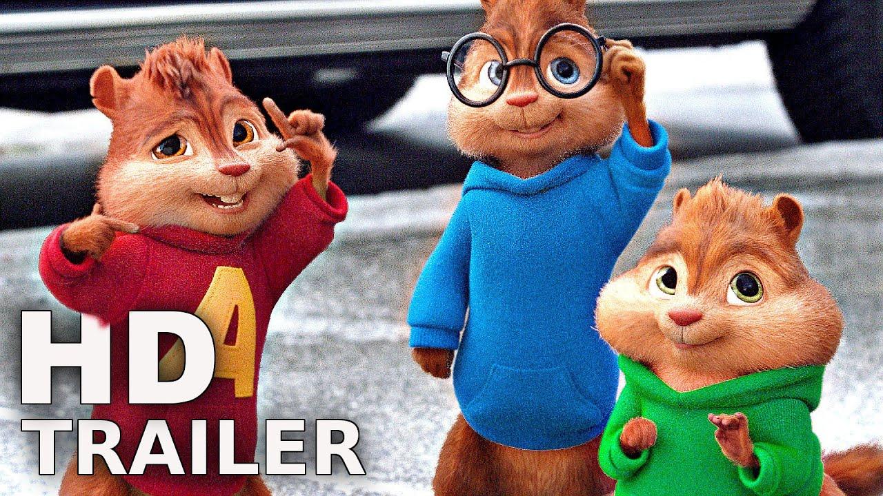 Alvin Und Die Chipmunks 4 - Trailer 2 Deutsch German (2016) über Alvin Und Die Chipmunks 4 Trailer