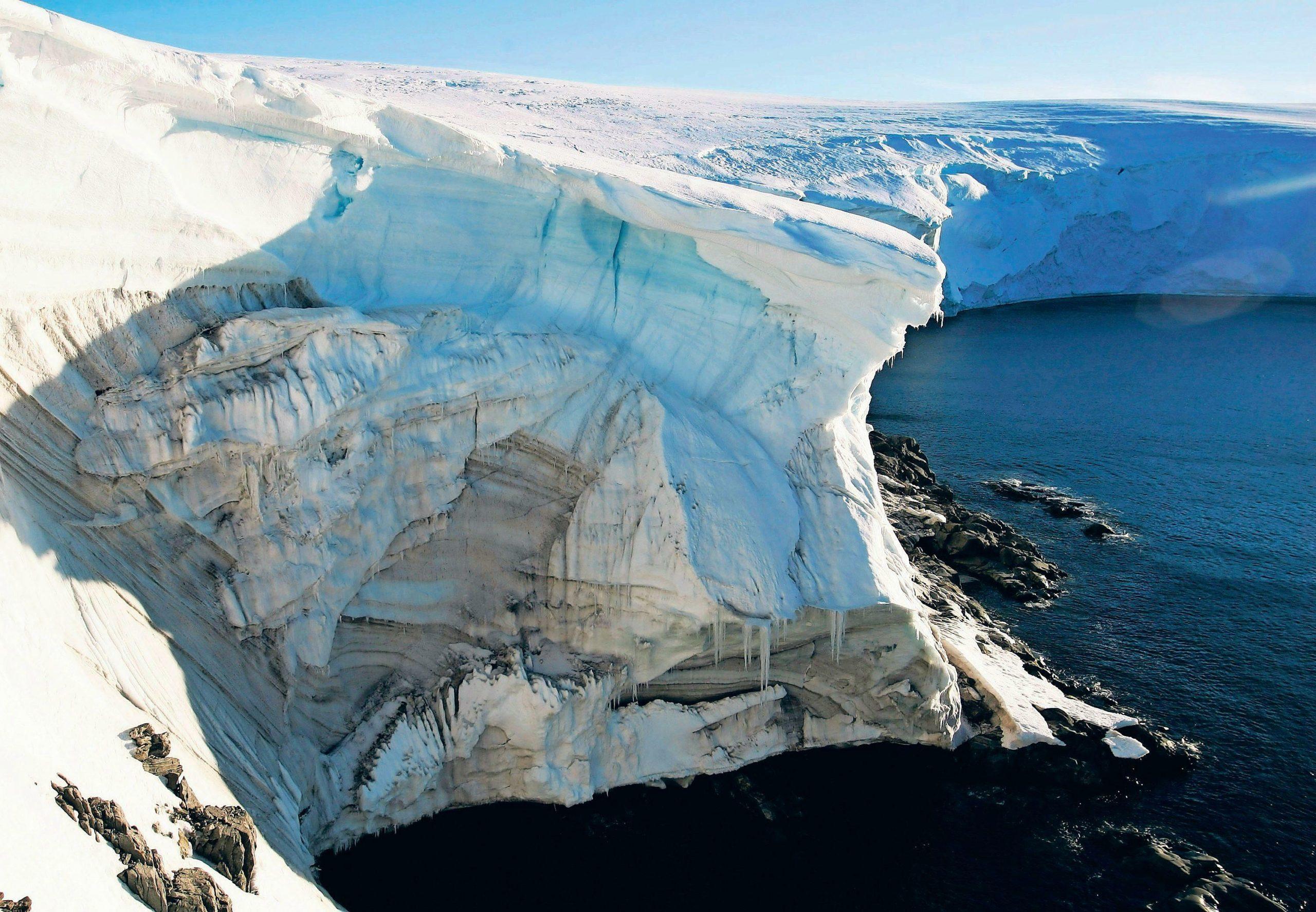 Antarktis: Eisverlust Beschleunigt Sich Drastisch verwandt mit Eis Im Wasserglas Schmelzen Wie Ist Der Wasserspiegel Nun