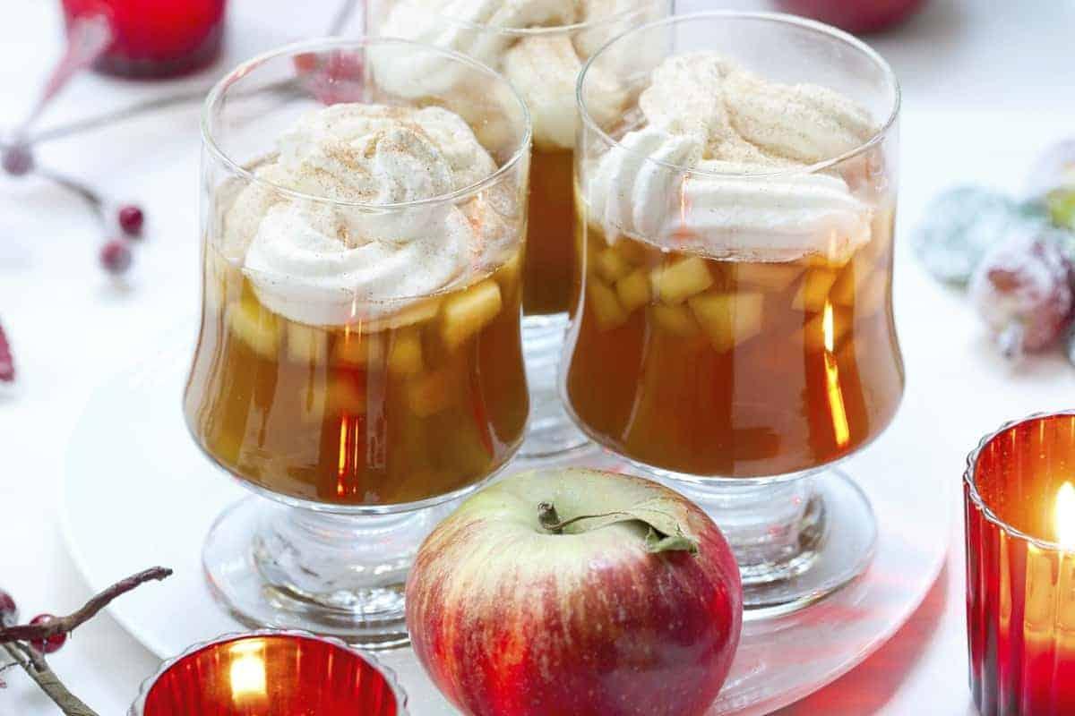 Apfelpunsch Aus Dem Thermomix® über Weihnachtlicher Apfelpunsch Ohne Alkohol