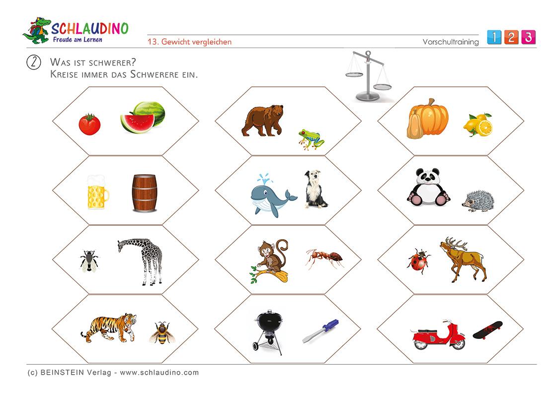 Arbeitsblätter Für Die Vorschule - Vorschulblätter Zum bei Vorschulblätter Kindergarten