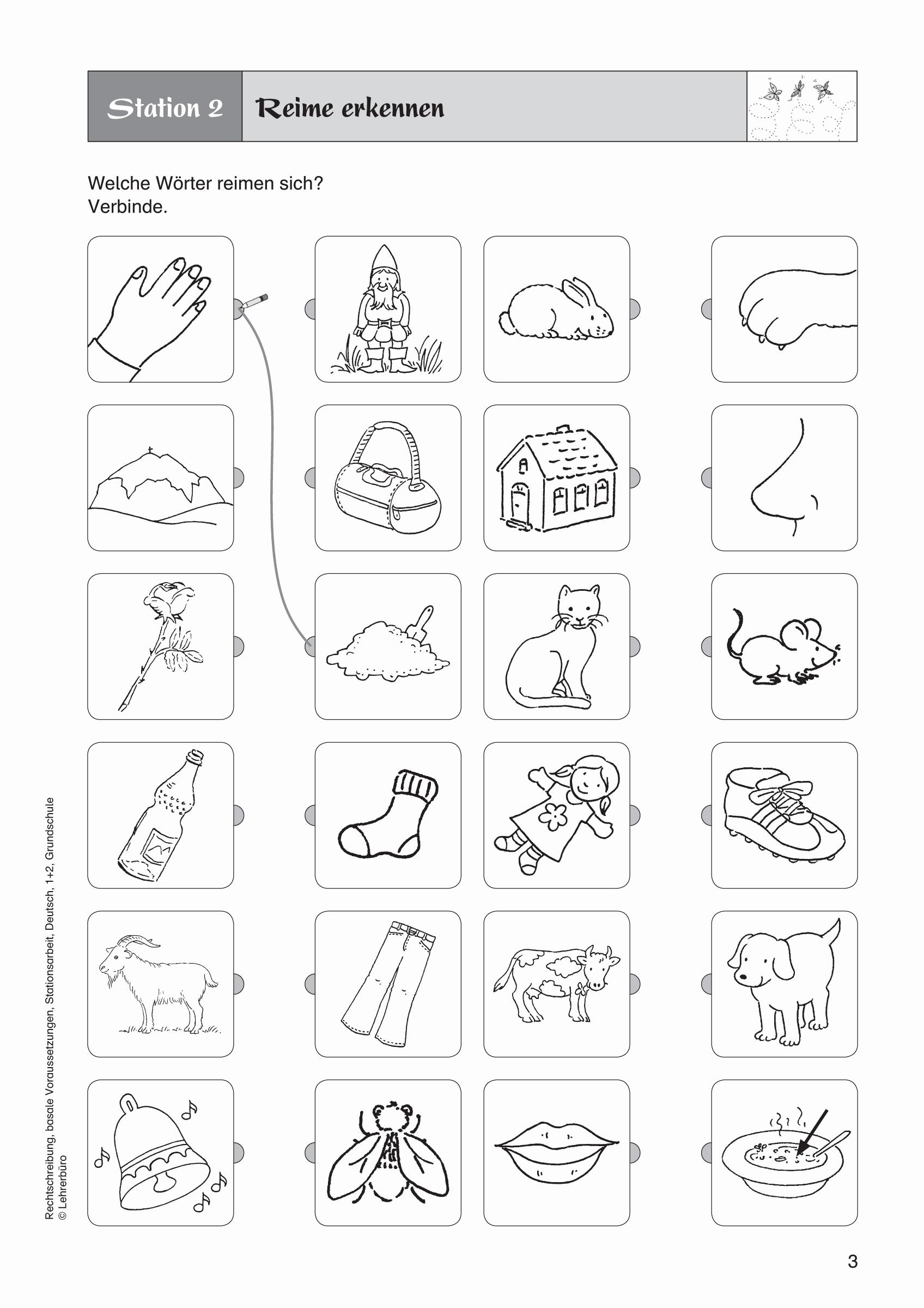 Arbeitsblatter Grundschule Deutsch 1 Klasse Kostenlos Genial in Übungsblätter Kostenlos