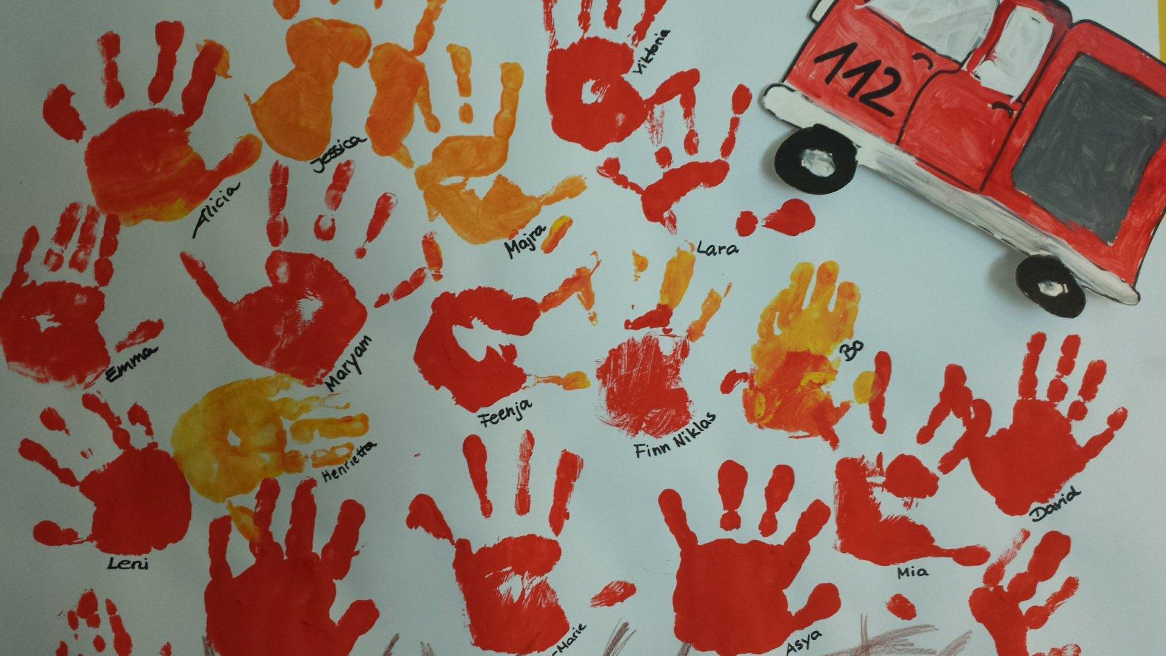 Archiv - Kindergartenschoenbergs Webseite! bestimmt für Thema Feuerwehr Im Kindergarten Basteln