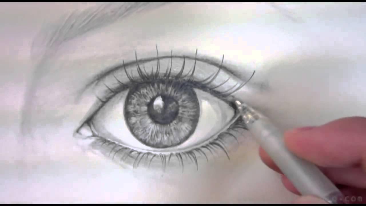 Auge Zeichnen Lernen innen Augen Malen Lernen