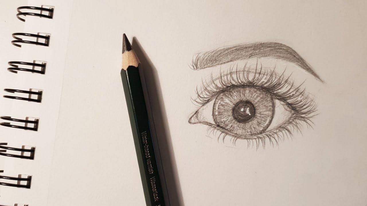 Augen Zeichnen Tutorial // Mein Style | Katharina Sophia bei Augen Malen Lernen