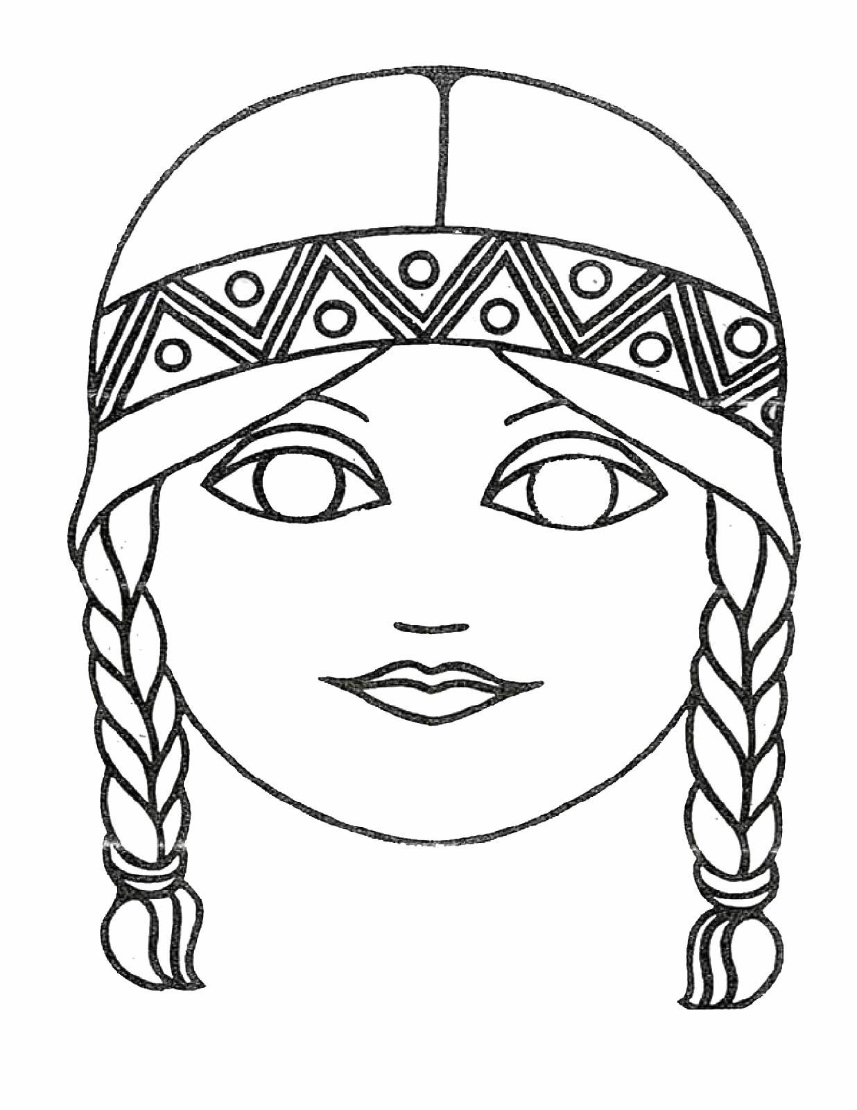 Aumalbilder- Malvorlagen- Masken   Ausmalbilder Malvorlagen über Masken Zum Ausmalen