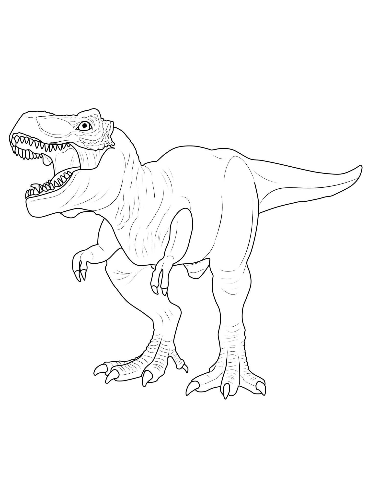 Ausmalbild Dinosaurier Und Steinzeit: Dinosaurier Ausmalen mit Dino Ausmalbild