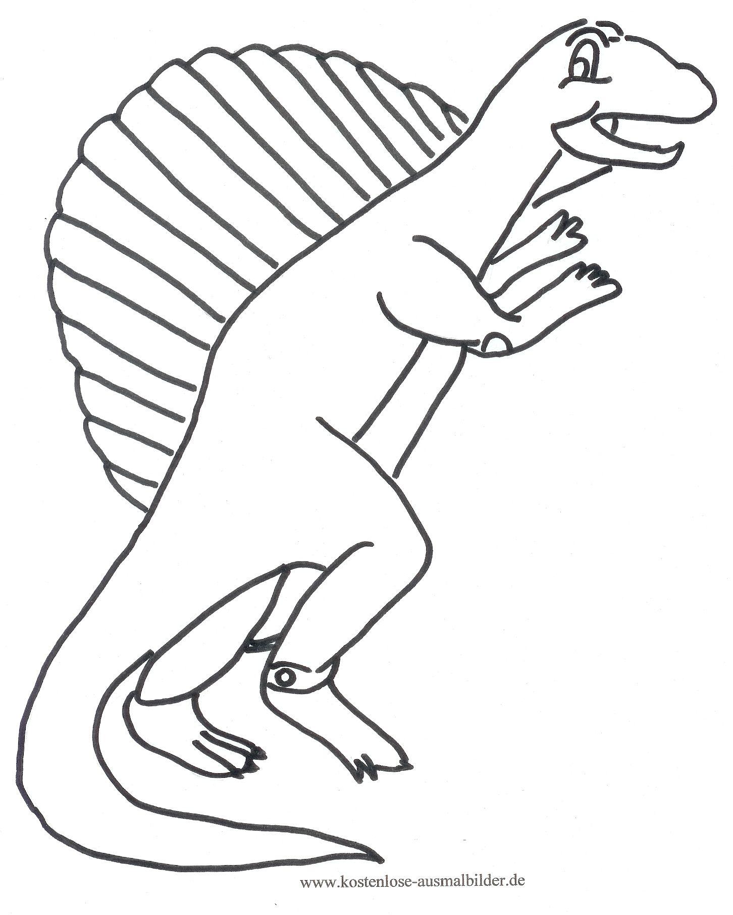 Ausmalbild Dinosaurier Zum Kostenlosen Ausdrucken Und ganzes Ausmalbilder Kostenlos Dinosaurier