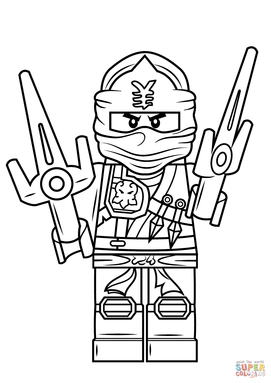 Ausmalbild: Lego Ninjago Jay Zx. Kategorien: Lego Ninjago in Ausmalbilder Ninjago Kostenlos
