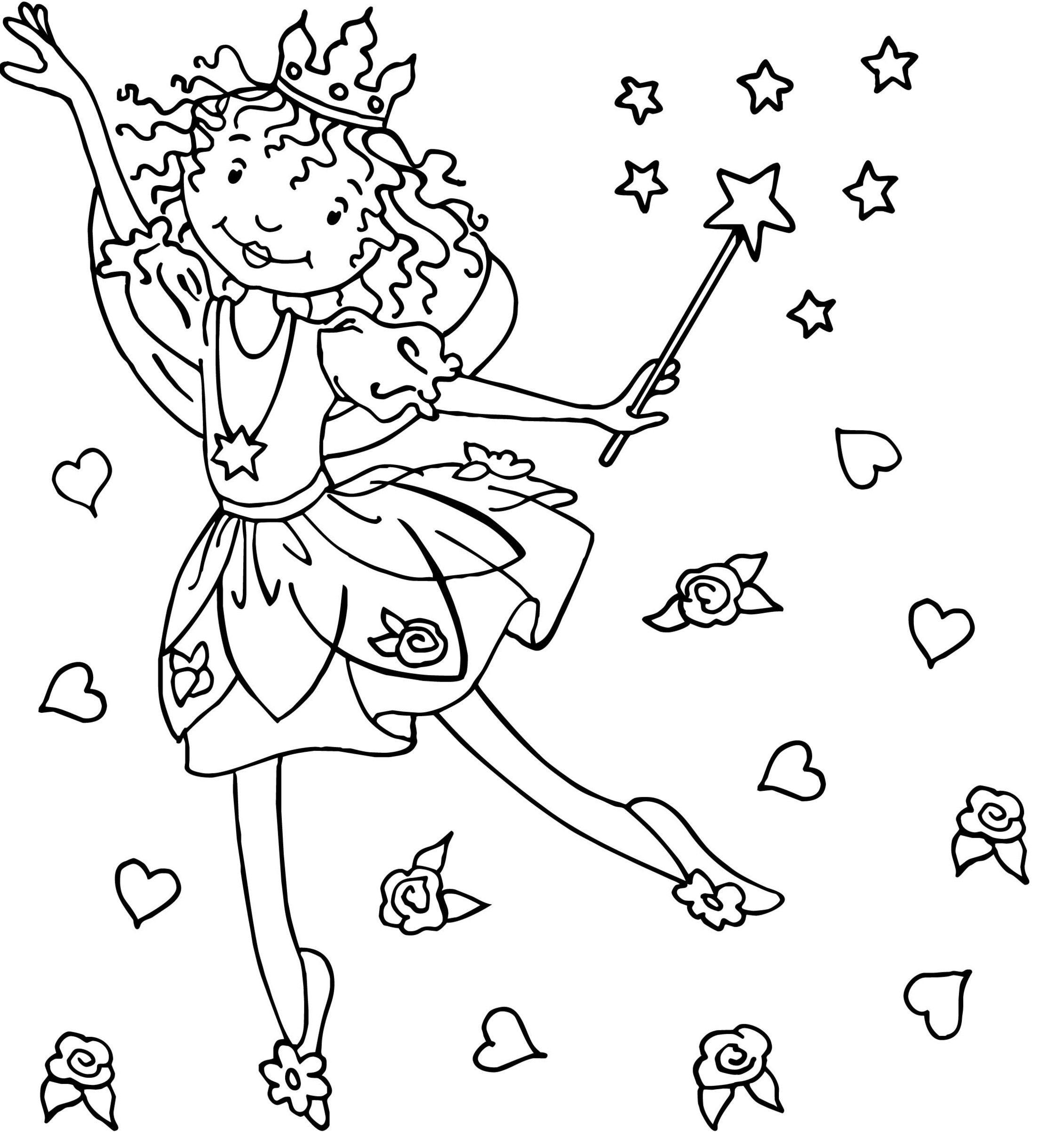 Ausmalbild Lillifee (Mit Bildern)   Ausmalbilder ganzes Gratis Malvorlagen Prinzessin Lillifee