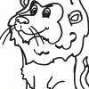 Ausmalbild Löwe - Kostenlose Malvorlagen in Malvorlage Löwe