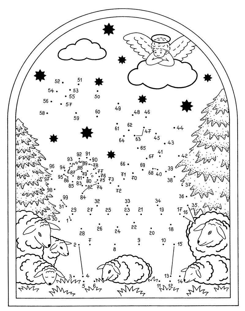 Ausmalbild Malen Nach Zahlen: Malen Nach Zahlen ganzes Ausmalbilder Weihnachten Ausdrucken