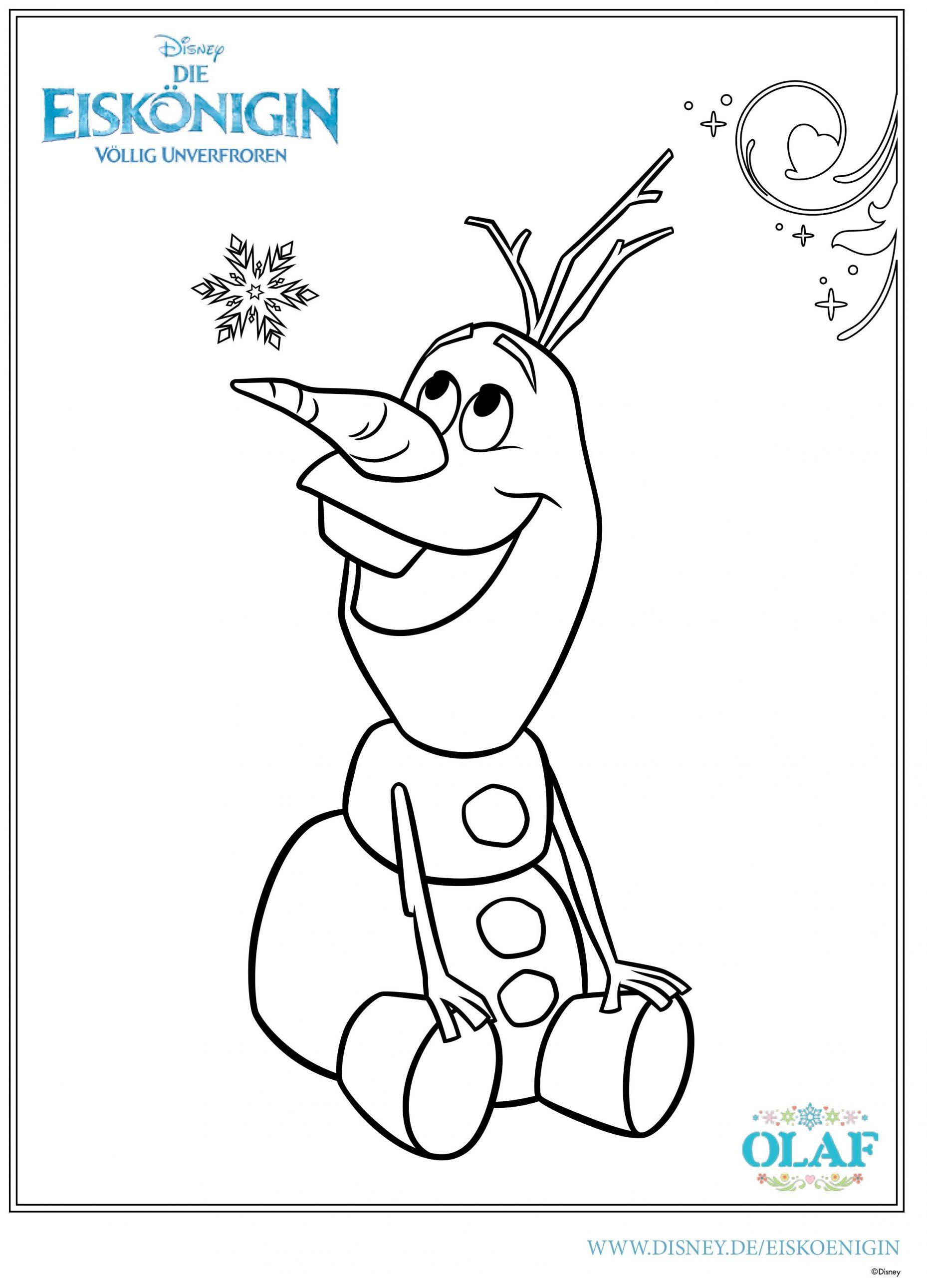 Ausmalbild - Olaf (Mit Bildern)   Weihnachtsbilder Zum bei Weihnachtsbilder Zum Ausmalen Und Drucken