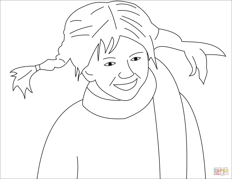 pippi langstrumpf bilder zum ausmalen  kinderbilder