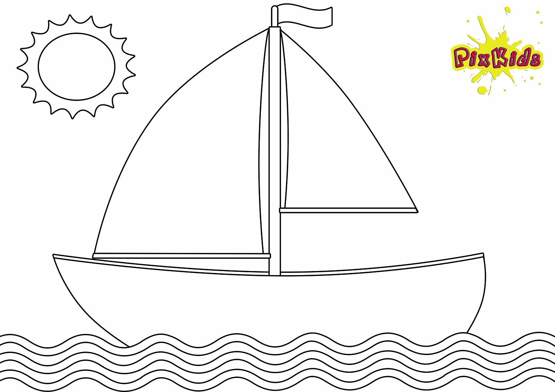 bastelvorlage schiff  kinderbilderdownload