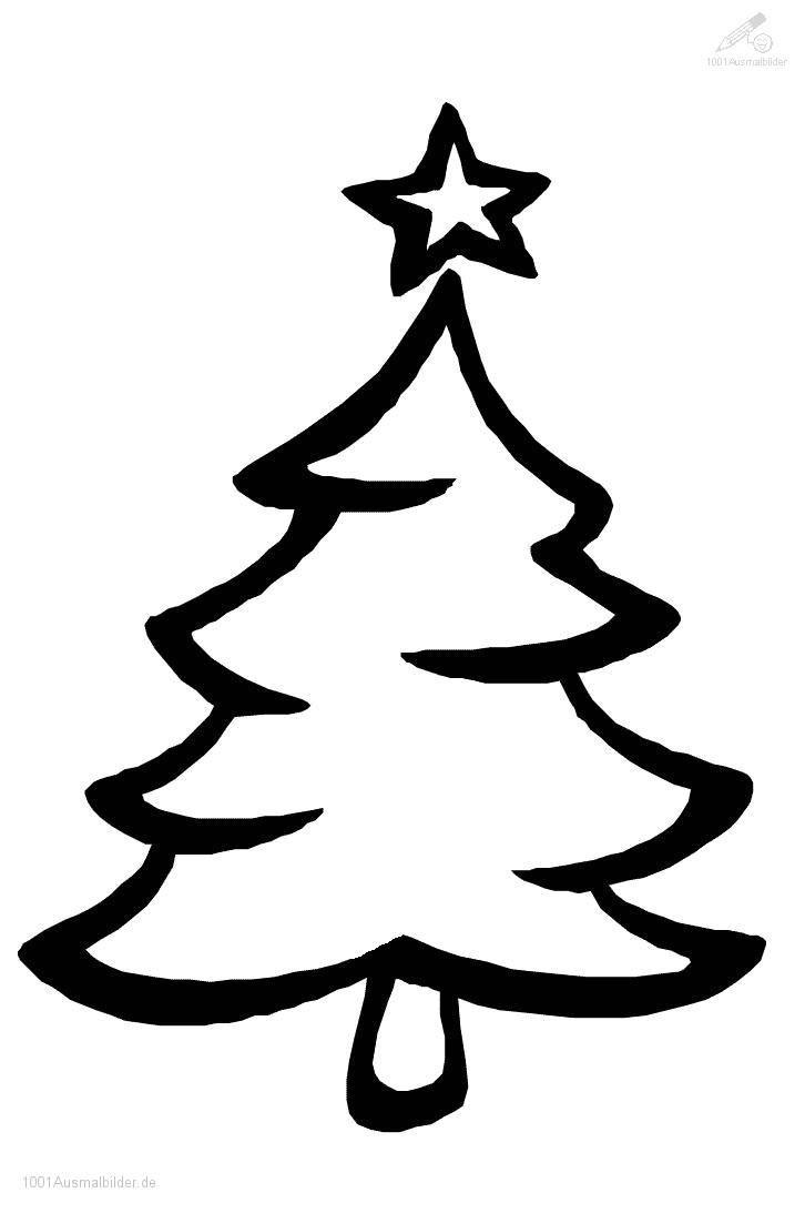 Ausmalbild-Weihnachtsbaum-23 726×1.093 Pixel in Malvorlage Weihnachtsbaum