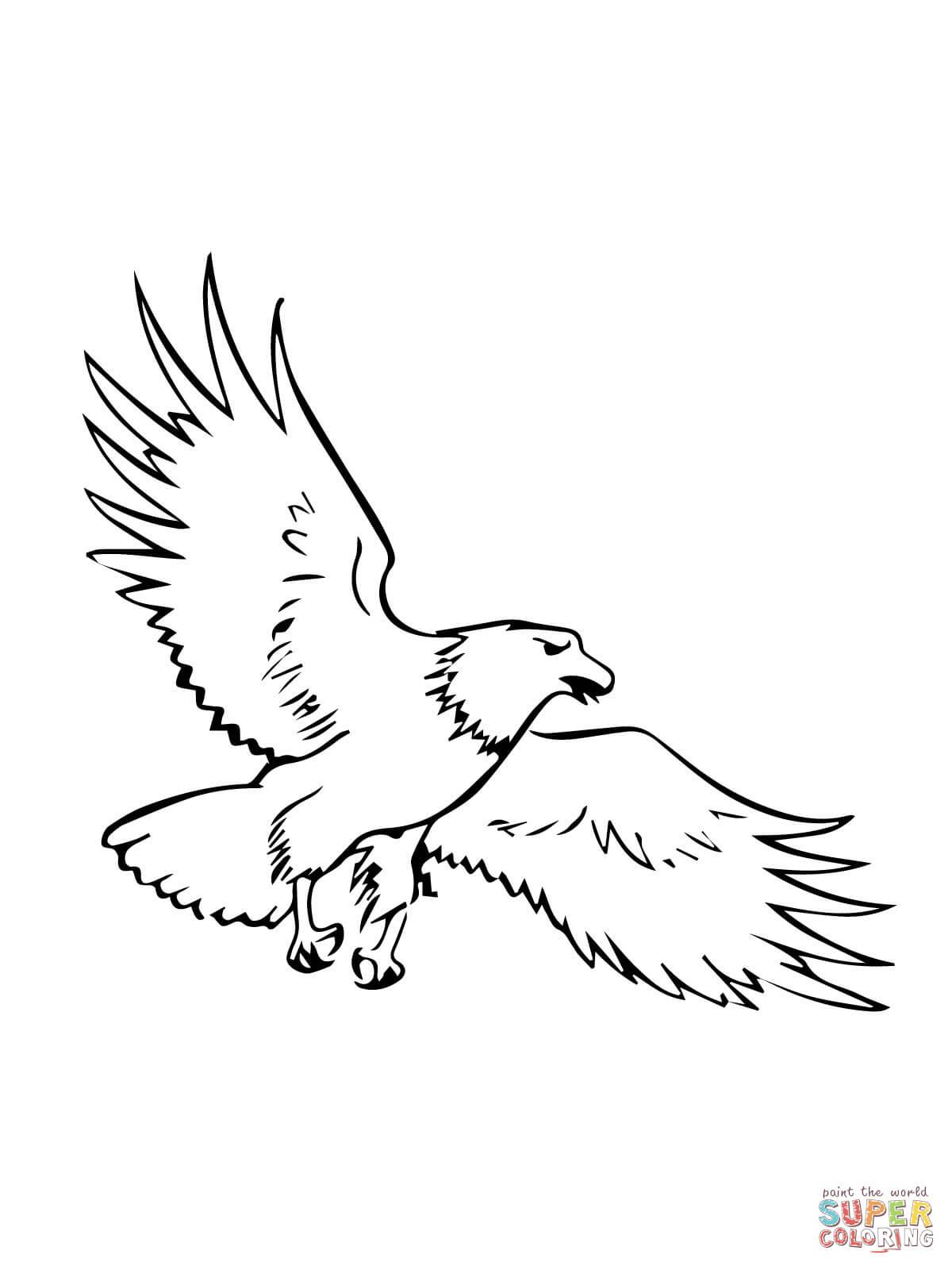 Ausmalbilder Adler - Malvorlagen Kostenlos Zum Ausdrucken in Adler Bilder Zum Ausdrucken