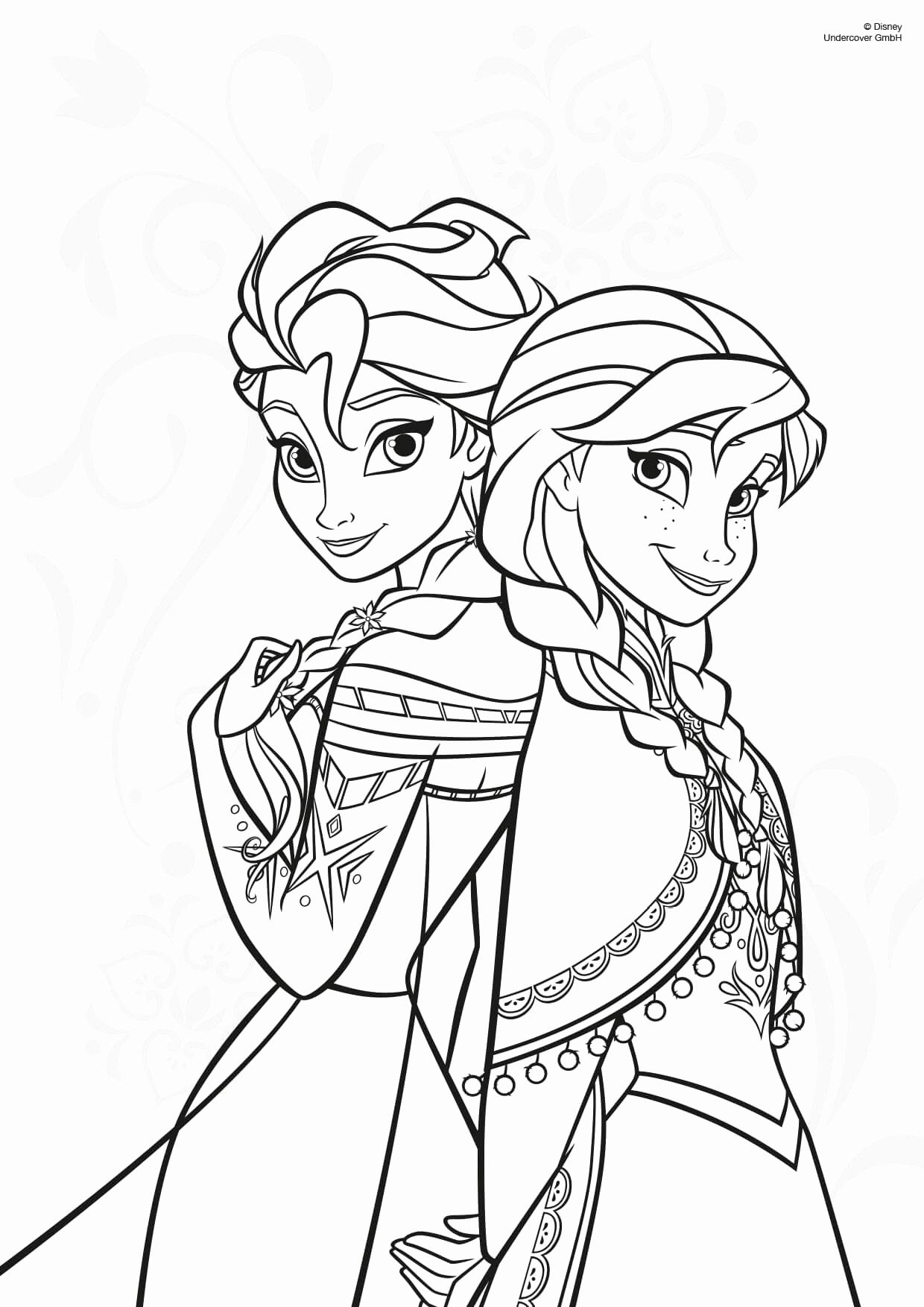 Ausmalbilder Anna Und Elsa Kostenlos Best Anna Und Elsa bestimmt für Anna Und Elsa Ausmalbilder Zum Ausdrucken