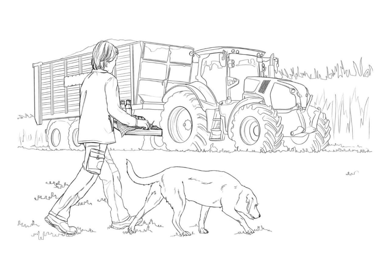 Ausmalbilder Aus Dem Neuen Top Agrar-Kinderbuch verwandt mit Bauernhof Ausmalbilder