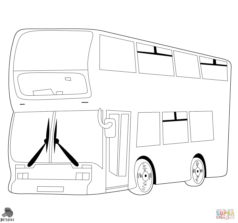 Ausmalbilder Busse Und Vans - Malvorlagen Kostenlos Zum für Ausmalbild Bus