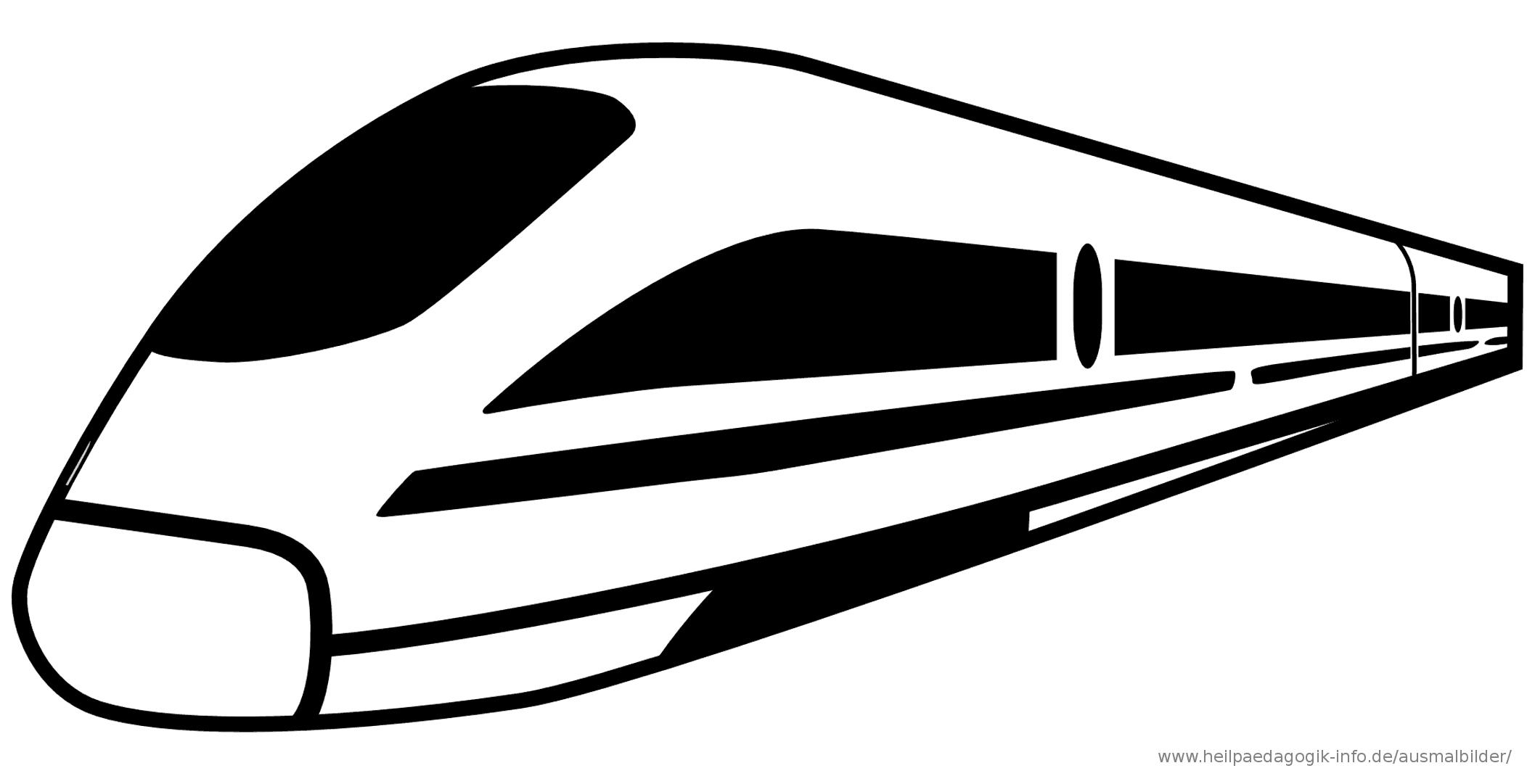 Ausmalbilder Eisenbahn - 1Ausmalbilder   Ausmalen verwandt mit Ausmalbild Zug