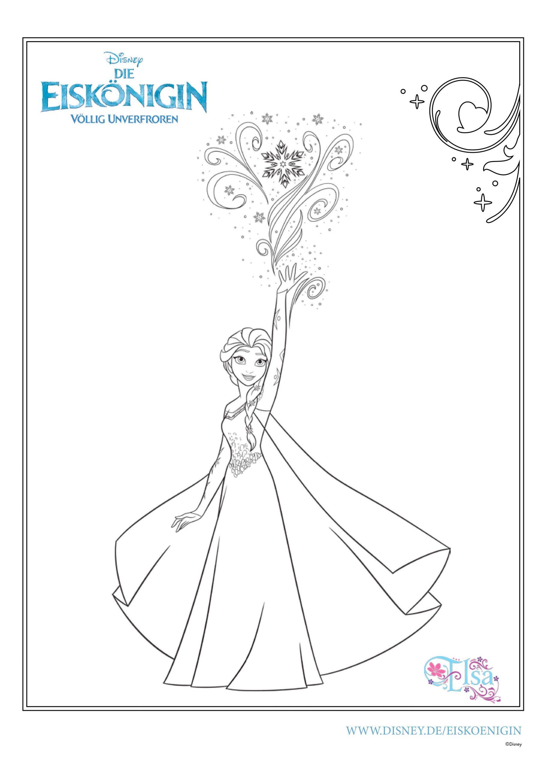ausmalbilder eiskönigin  mytoysblog für malvorlage elsa
