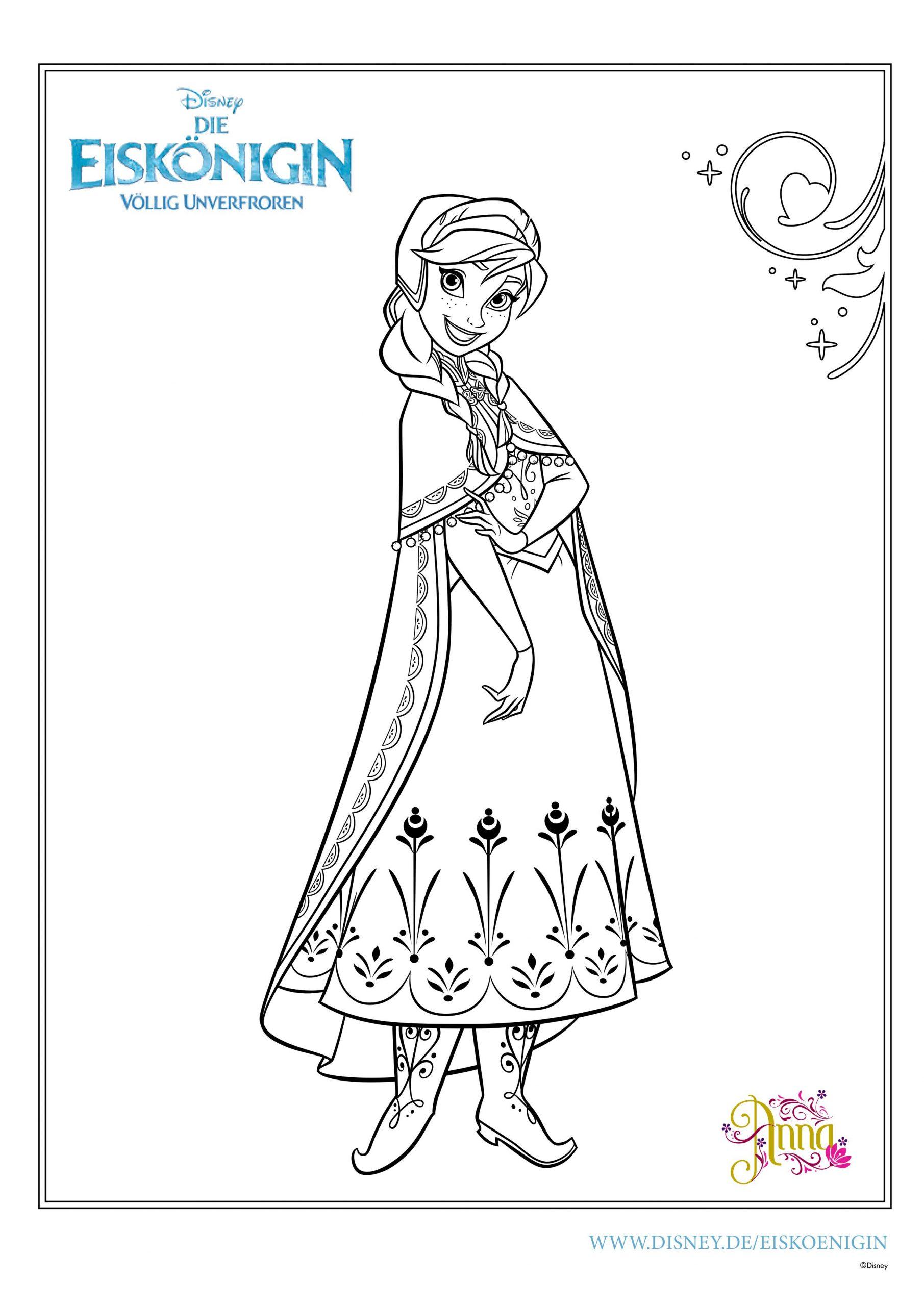 Ausmalbilder Eiskönigin | Mytoys-Blog mit Ausmalbilder Elsa