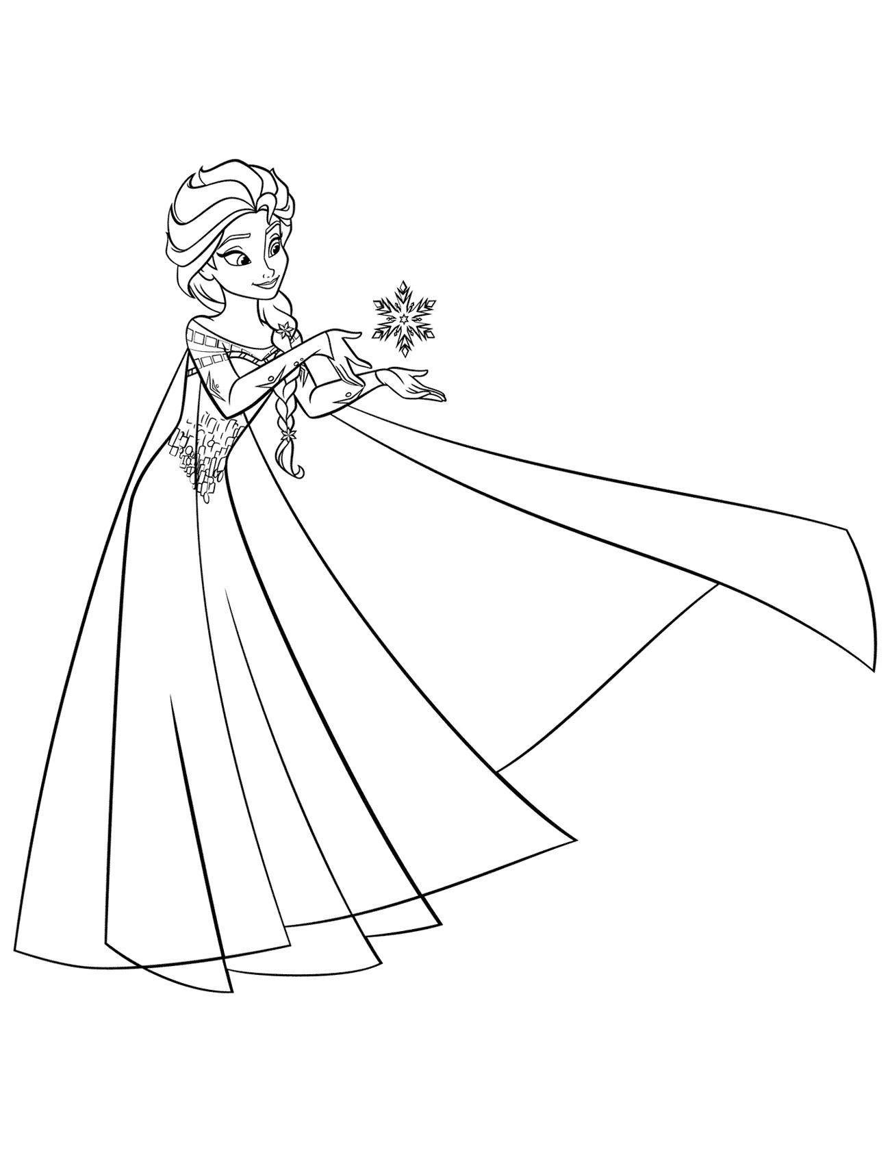 Ausmalbilder Elsa. Kostenlos Drucken, 60 Bilder Für Mädchen verwandt mit Ausmalbilder Elsa