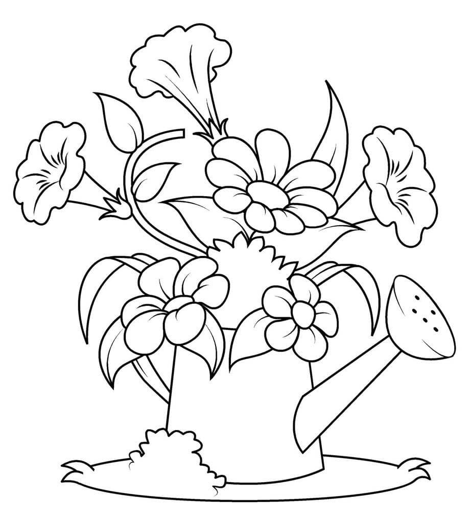 Ausmalbilder Frühling. Drucken Sie Eine Großartige Zeit Des verwandt mit Ausmalbilder Frühlingsblumen