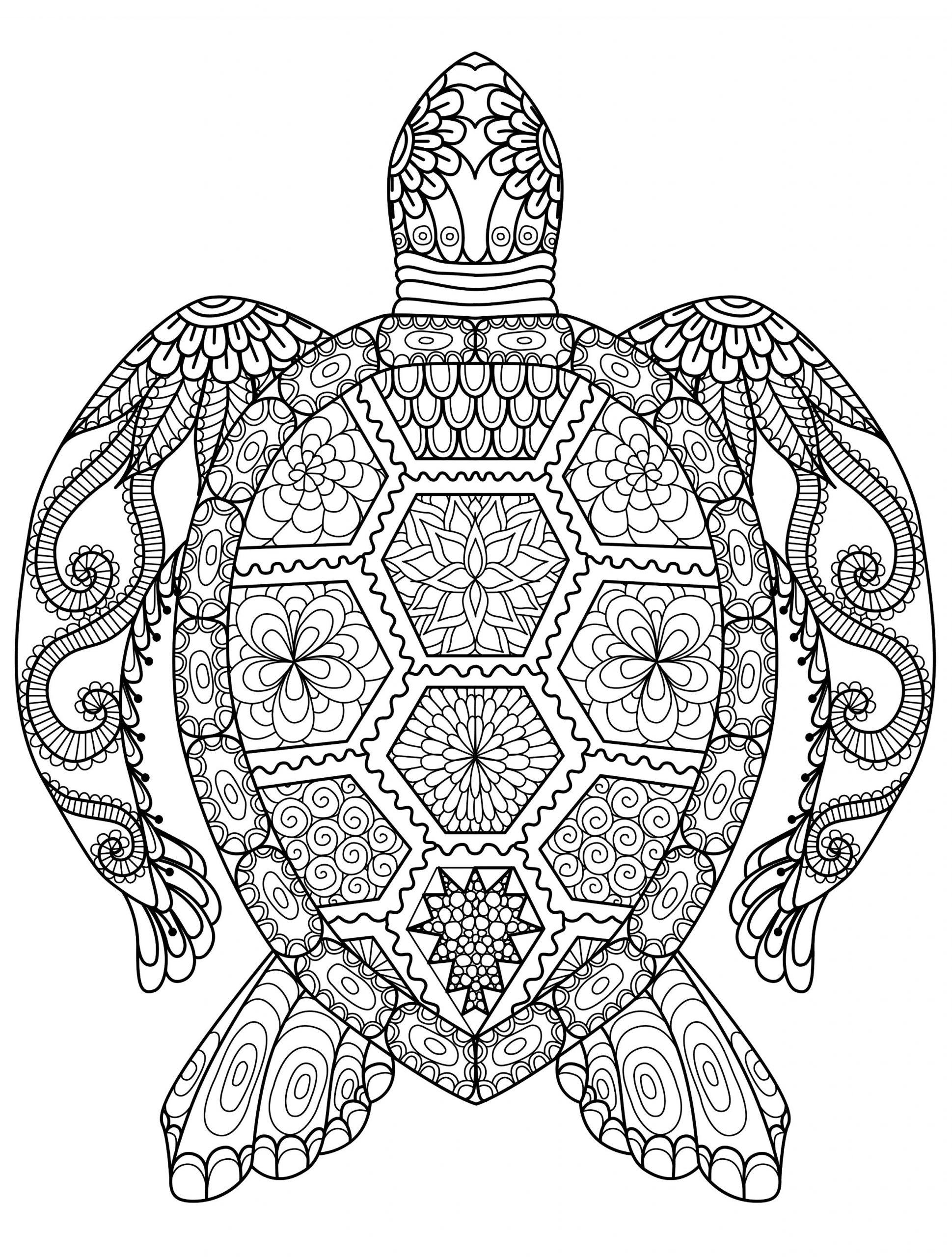 Ausmalbilder Für Erwachsene Tiere Zum Ausdrucken über Tier Mandalas