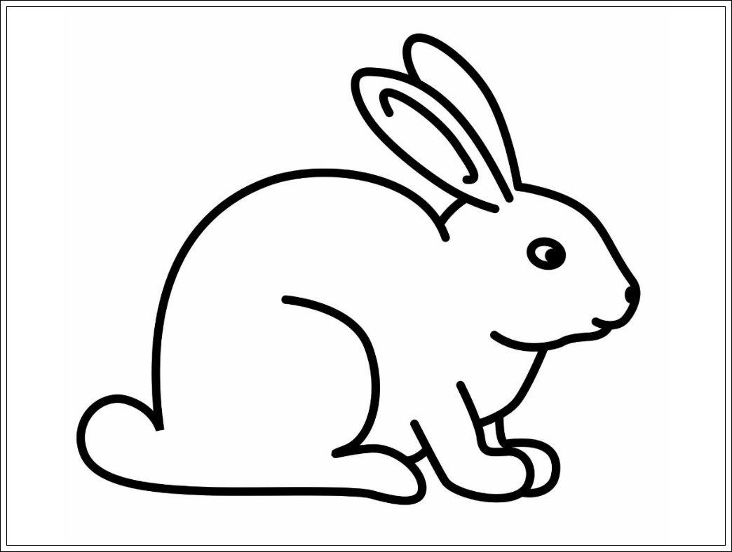Ausmalbilder Hase, Vorlage Hasen, Hase Ostern | Kaninchen innen Osterhase Vorlage Zum Ausdrucken