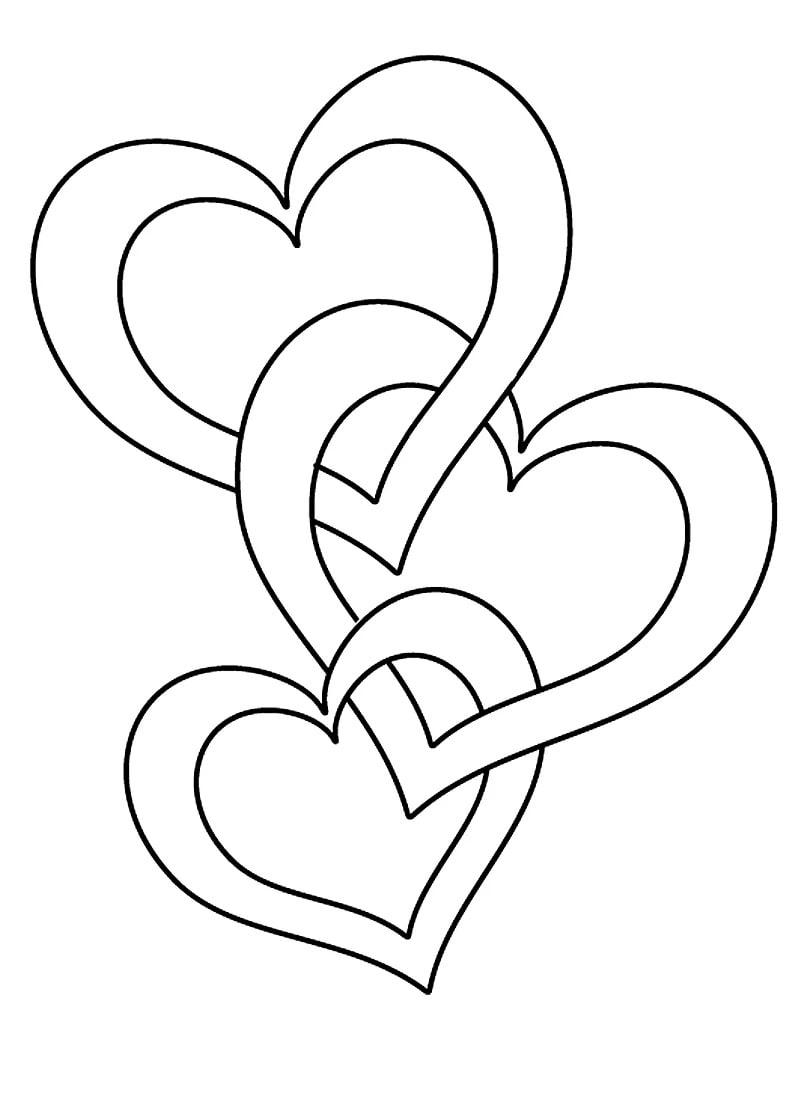 Ausmalbilder Herz. Kostenlos Herunterladen Oder Ausdrucken mit Ausmalbilder Herz Mit Pfeil